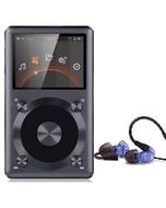 FiiO X3 II 2nd Generation High-Res Audio Player Black and Westone UM PRO 10 Blue Earphones