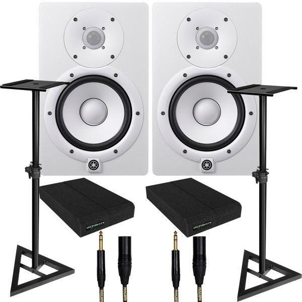 Yamaha Hs7 6 5 Powered Studio Monitor White