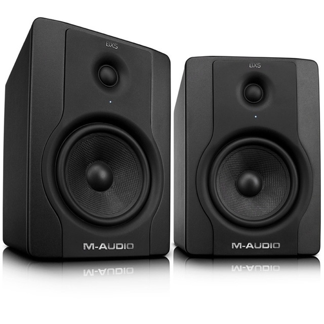 M-Audio BX5 D2 70-Watt Bi-Amplified Studio Monitors Pair