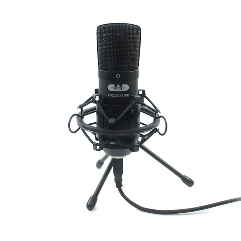CAD Audio GXL2600USB Large Diaphragm Studio Condenser USB Microphone