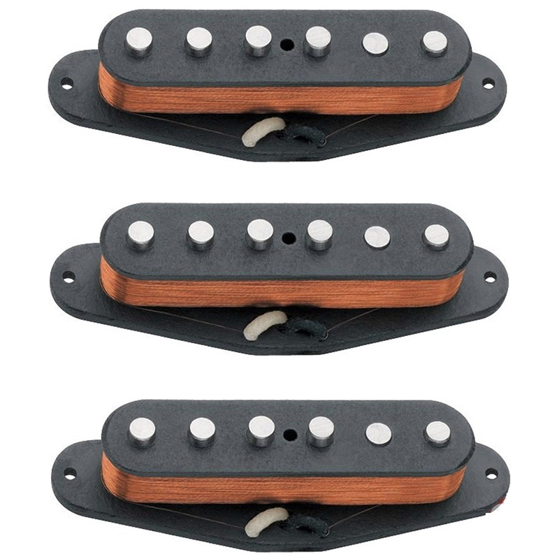 Seymour Duncan California 50's Single Coil Guitar Pickup Set SSL-1 11208-01