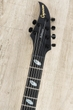 Caparison Dellinger II FX-AM Guitar, Dark Black Matt, Ebony, Ash Top