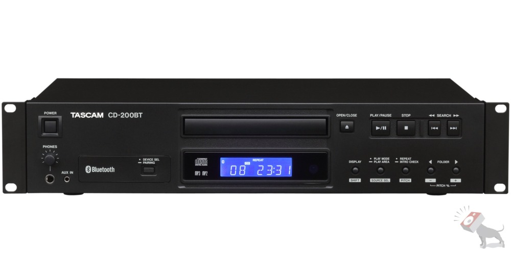 Tascam CD-200BT CD Player & Bluetooth Receiver