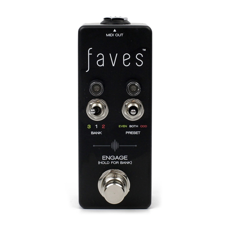 Chase Bliss Audio FAVES Presets MIDI Controller