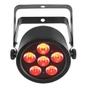 Chauvet SlimPAR T6 USB Low Profile Tri-Color (RGB) LED Wash Light w/ D-Fi USB