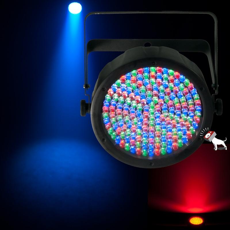Chauvet SlimPAR 64 RGB DMX LED Par Wash Uplight Fixture