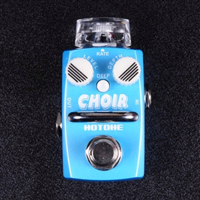 Hotone Choir Analog Chorus Modulation Skyline Series Stompbox