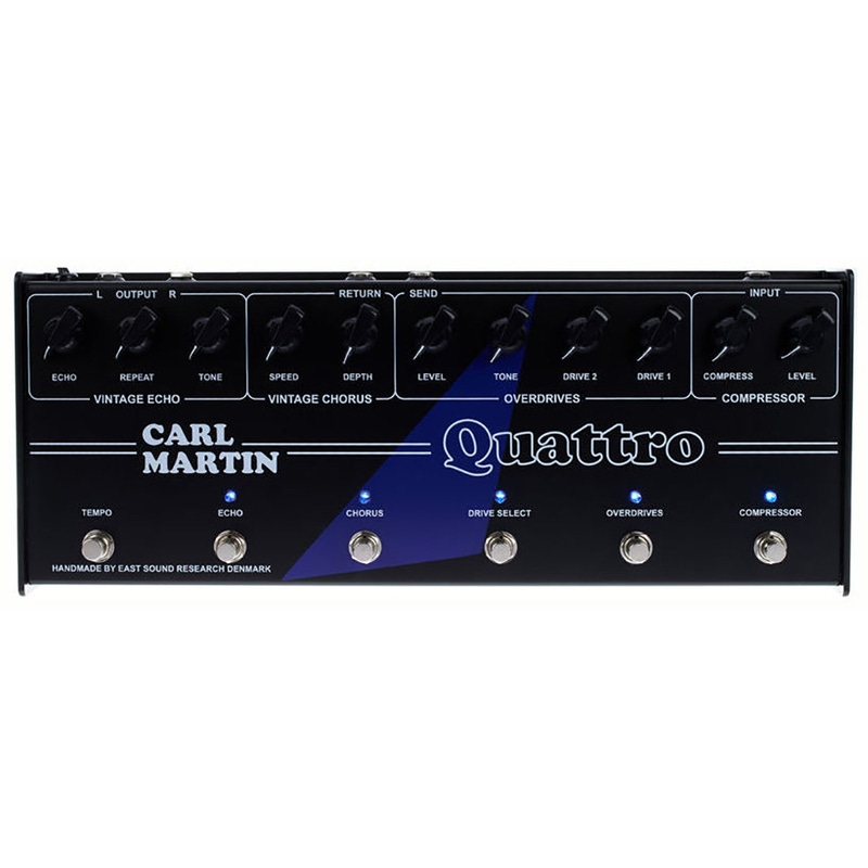 Carl Martin Quattro Analog Multi-Effect Guitar Pedal