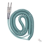 Lava Cable LCRCMG Retro Coil 20' Straight Instrument Cable - Metallic Green