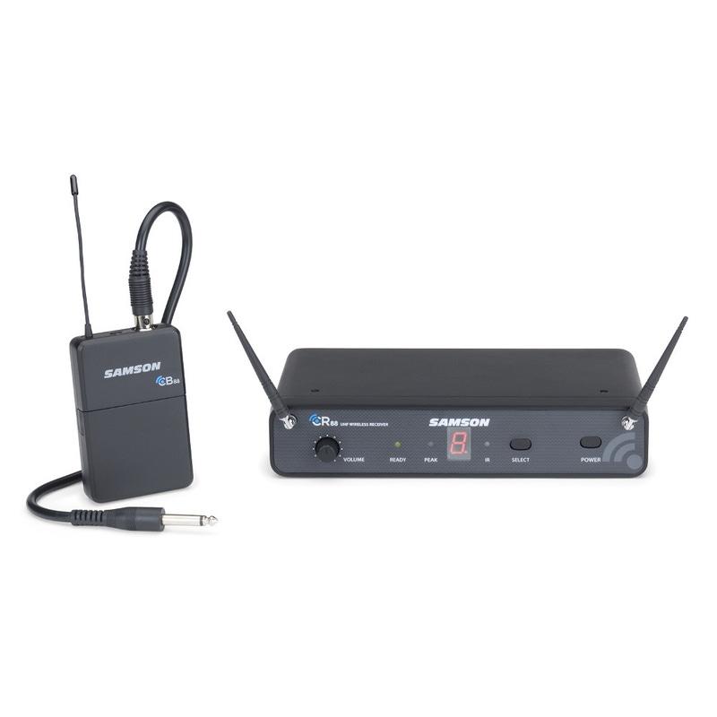 Samson Concert 88 Guitar 16-Channel True Diversity UHF Wireless System (Band-C)