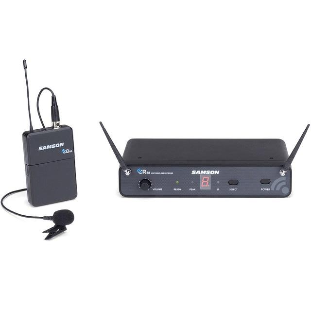 Samson Concert 88 Presentation Lavalier Microphone 16-Channel UHF Wireless System (Band-D)