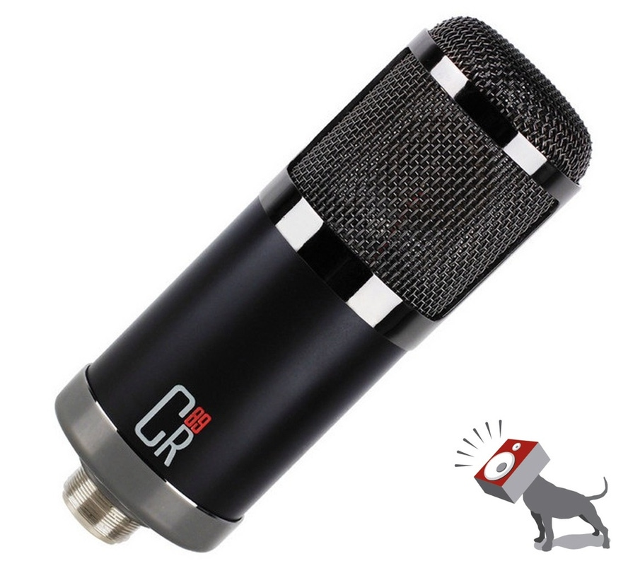 MXL Cr89 Low Noise Condenser Cardioid Microphone Recording Studio Mic CR 89