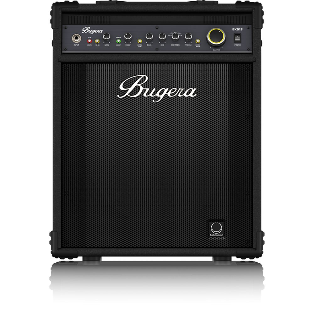 bugera bxd15 ultrabass 700w 1x15 bass guitar combo amplifier. Black Bedroom Furniture Sets. Home Design Ideas