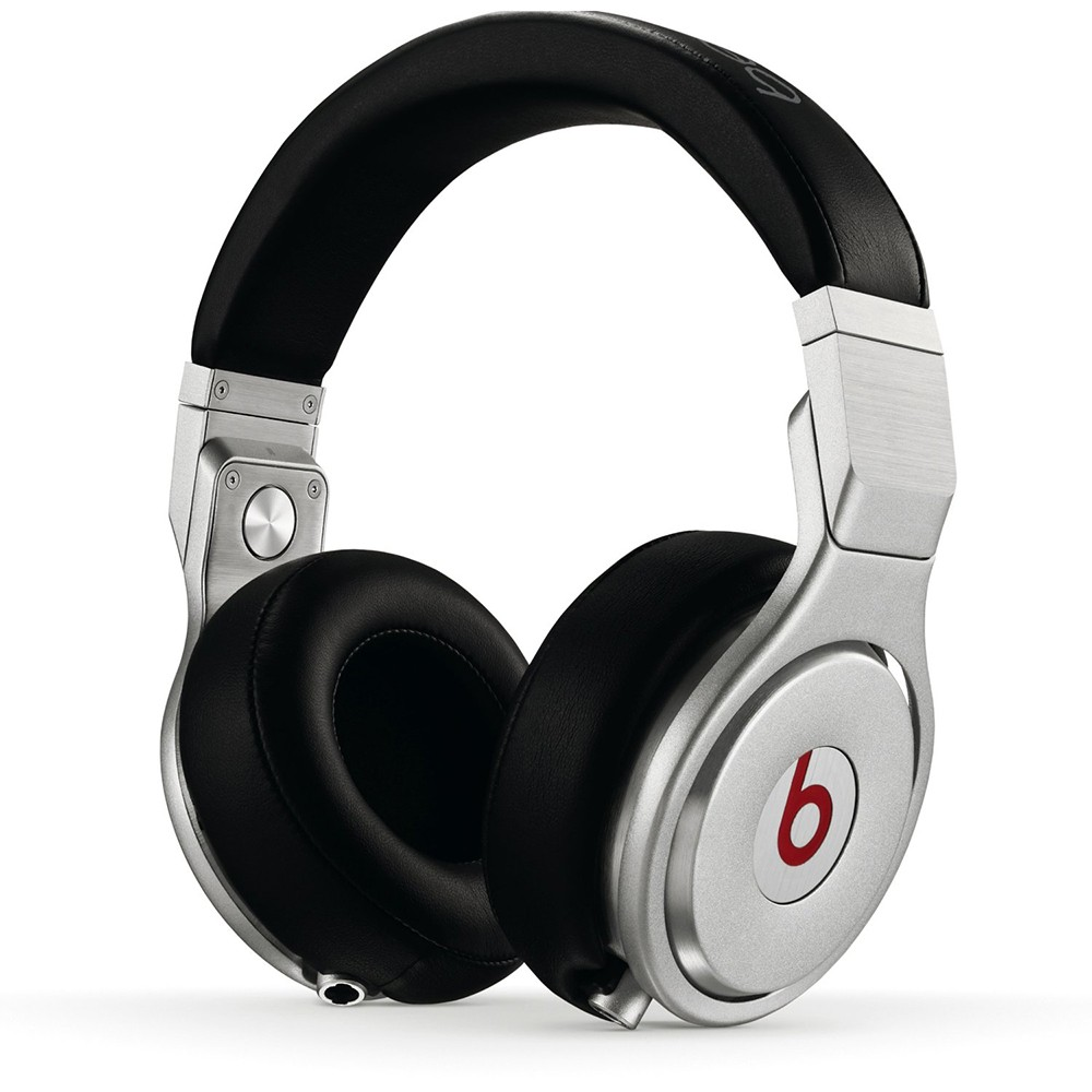 Beats by Dre Pro Over-Ear Wired Headphones - Black/White