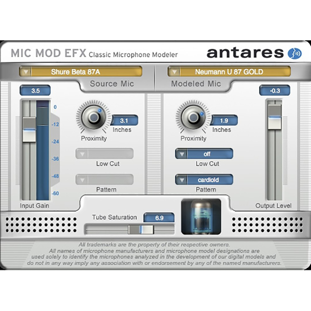 Antares Mic Mod Efx Microphone Modeling Software Download