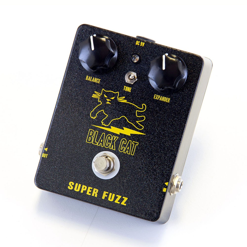 black cat pedals super fuzz guitar effects pedal. Black Bedroom Furniture Sets. Home Design Ideas
