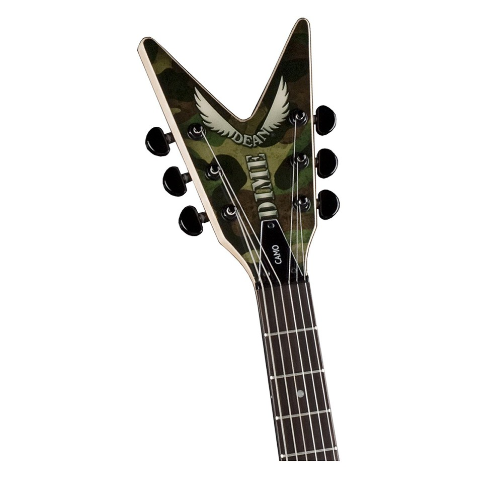 dean guitars dimebag dime camo ml electric guitar. Black Bedroom Furniture Sets. Home Design Ideas