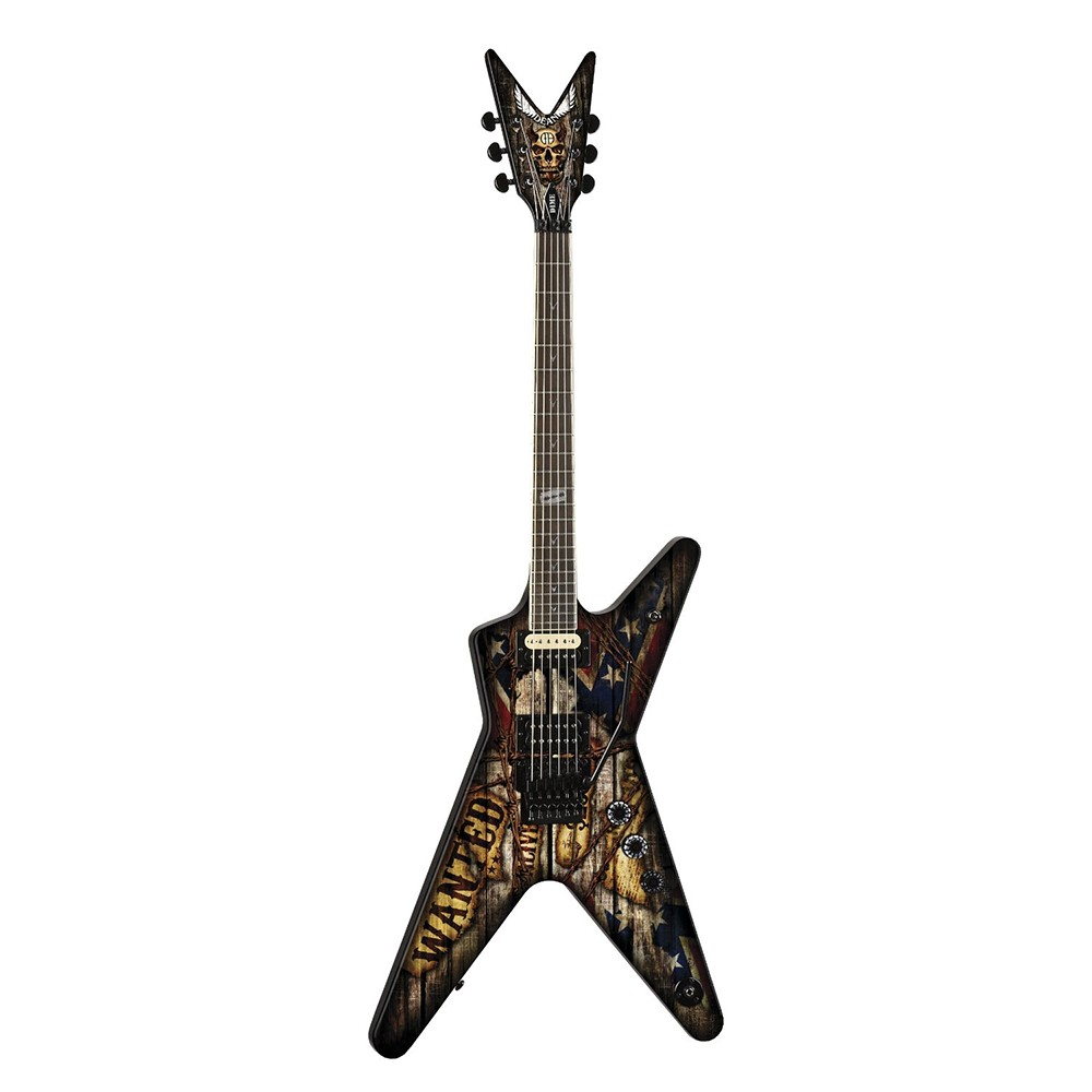 dean guitars dimebag darrell signature electric guitar wanted graphic. Black Bedroom Furniture Sets. Home Design Ideas