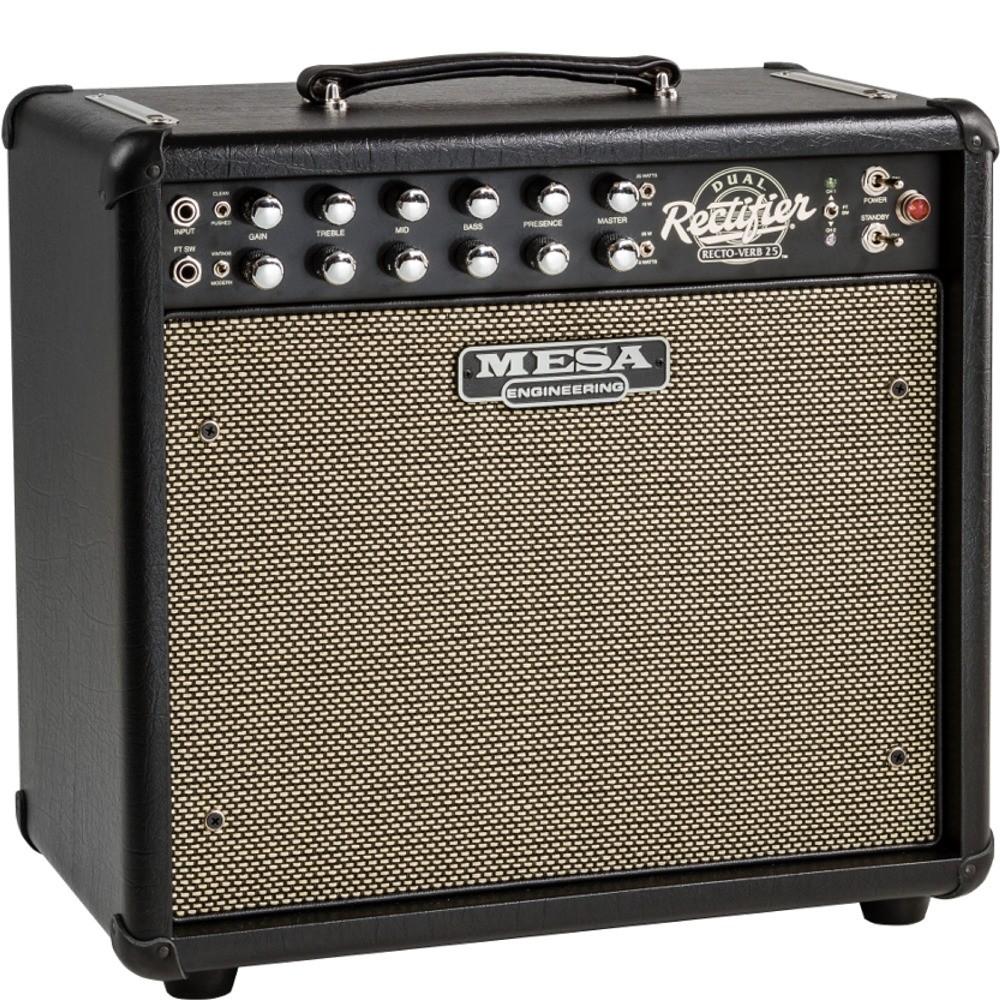 mesa boogie amplifiers mini dual rectifier recto verb 25 25 watt 2 channel 4 mode 1x12 guitar. Black Bedroom Furniture Sets. Home Design Ideas
