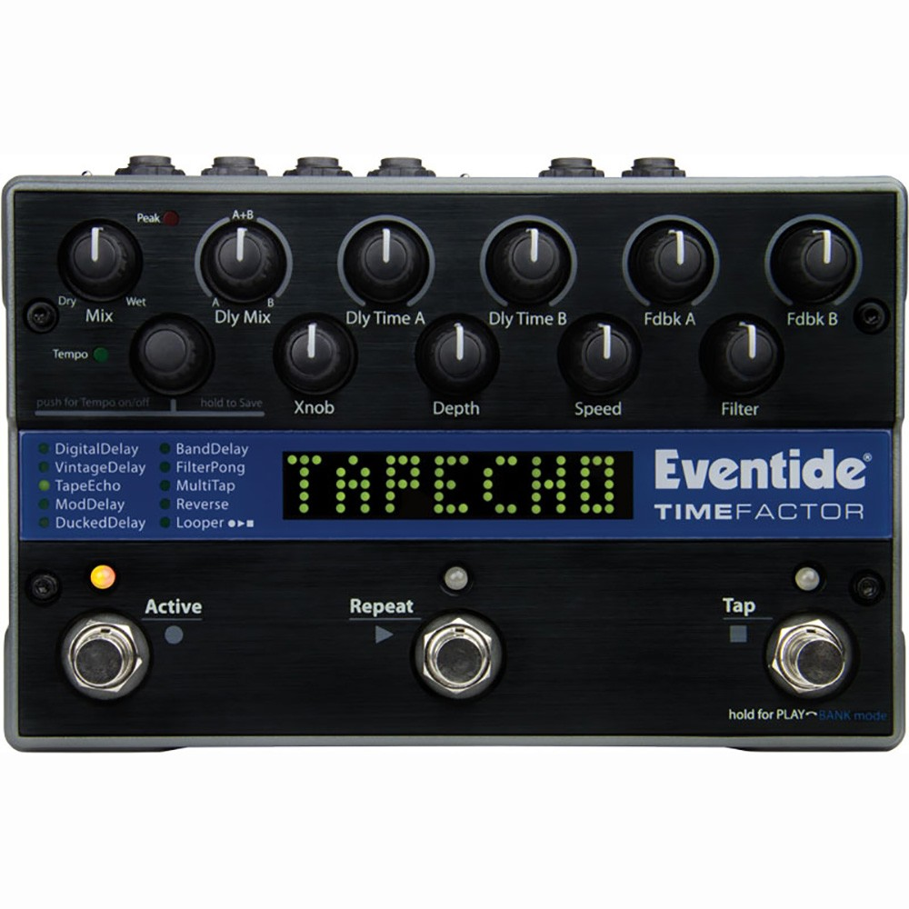 Eventide Timefactor Twin Dealy Guitar Effects Pedal