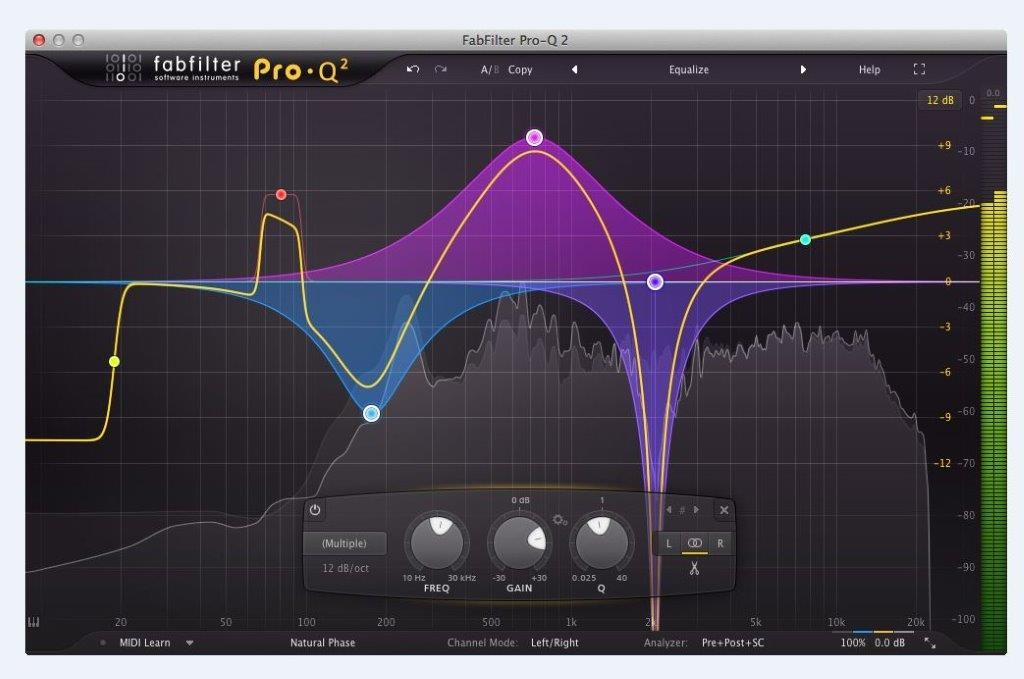 FabFilter Pro-Q 2 Equalizer Plug-In