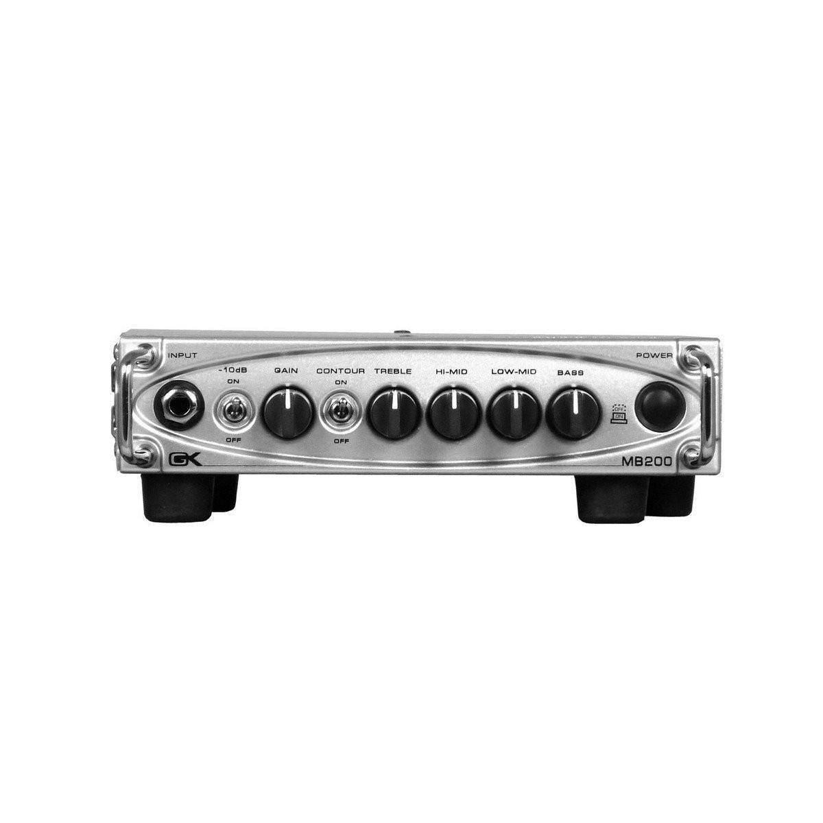 gallien krueger mb200 200 watt 4 or 8 ohm micro bass amplifier head. Black Bedroom Furniture Sets. Home Design Ideas