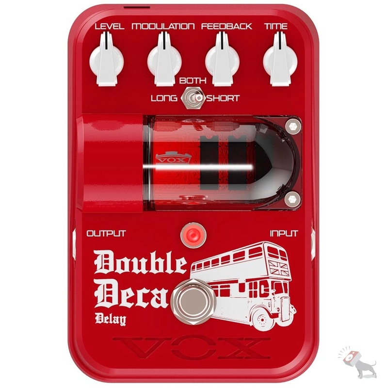 Vox Tone Garage Double Deca Delay Guitar Pedal