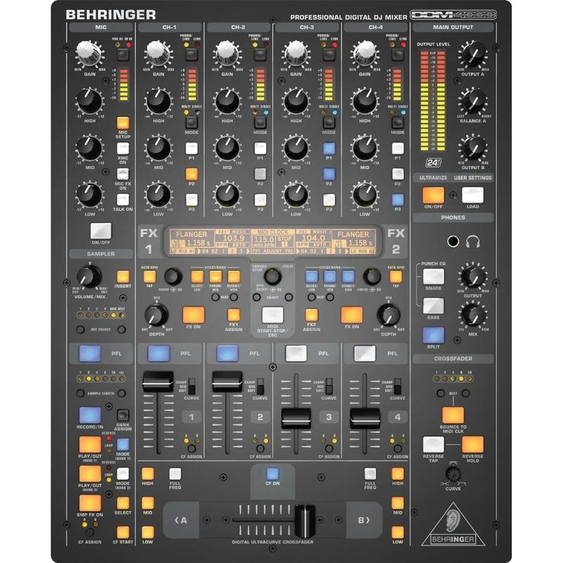Behringer DDM4000 Ultimate 5-Channel Digital DJ Mixer