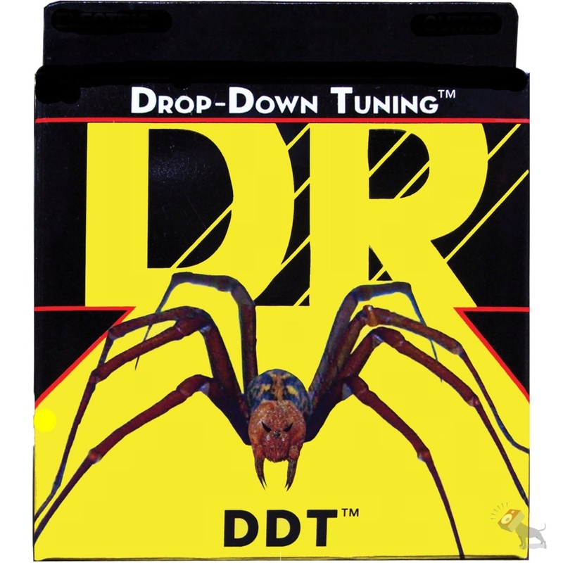 DR DDT-55 Drop Down Tuning Heavier 4-String Electric Bass Strings (55-115)
