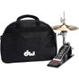 DW Drum Workshop 5500LB Lowboy Hi-Hat Stand with Cymbals & Gig Bag