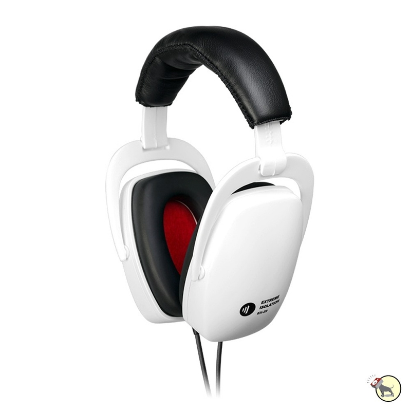 Direct Sound EX-29 Passive Noise Isolation Studio Headphones (White)