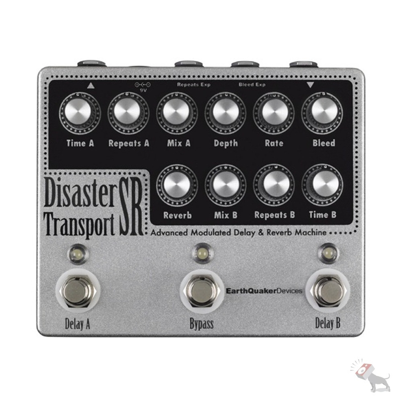 EarthQuaker Devices Disaster Transport SR Advanced Modulated Delay & Reverb Machine