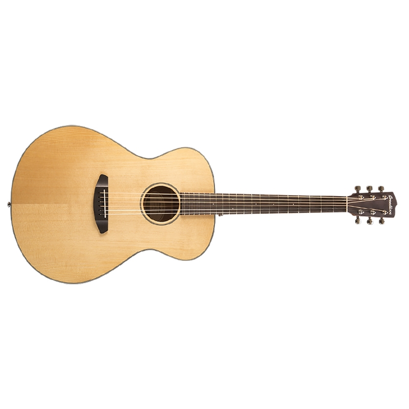 Breedlove Discovery Concerto Acoustic-Electric Guitar, Solid Sitka Spruce Top