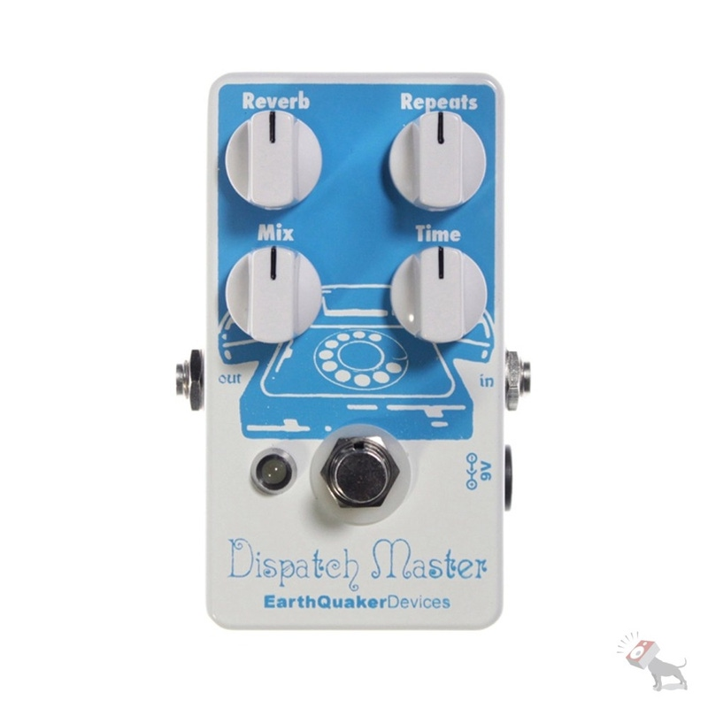 EarthQuaker Devices Dispatch Master Delay & Reverb Guitar Pedal