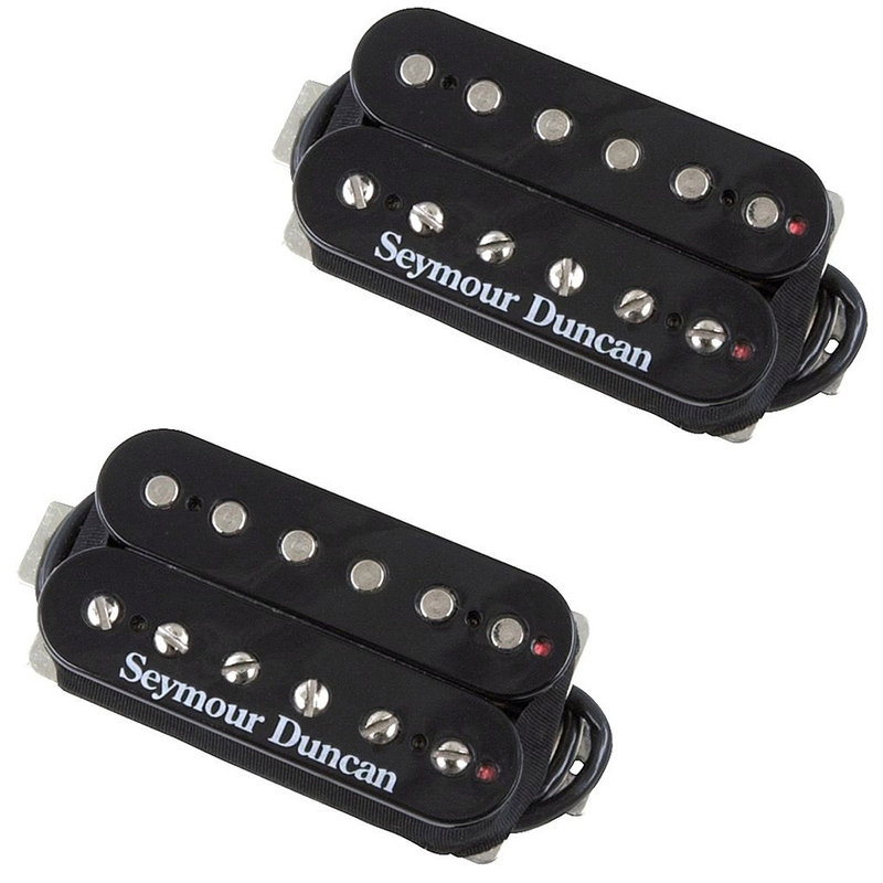 Seymour Duncan Distortion Mayhem Guitar Pickup Humbucker Black SH6 Set 1108-21-B