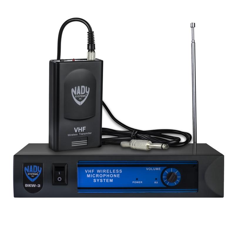 Nady DKW-3 GT Wireless Guitar/Instrument VHF System; Band R