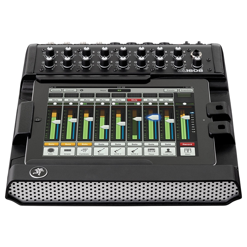 Mackie DL1608 16-Channel Digital Mixer with iPad Control with Lightning Connection