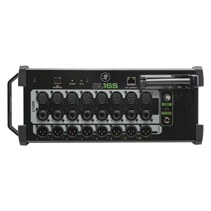 Mackie DL16S Digital Stagebox Mixer, Tablet/Mac/PC Control, Built-in Wifi