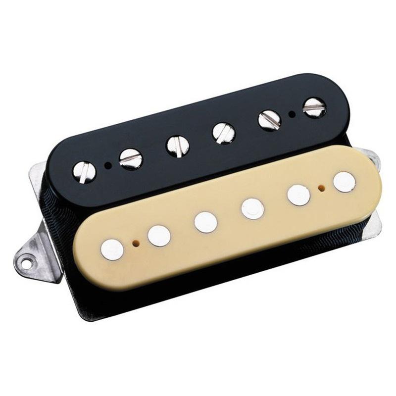DiMarzio DP253FBC Gravity Storm Steve Vai Bridge F-Spaced Guitar Pickup Black/Cream