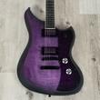 Dunable Yeti Guitar, Purple Black Burst, Ebony Fretboard, Direwolf Pickups