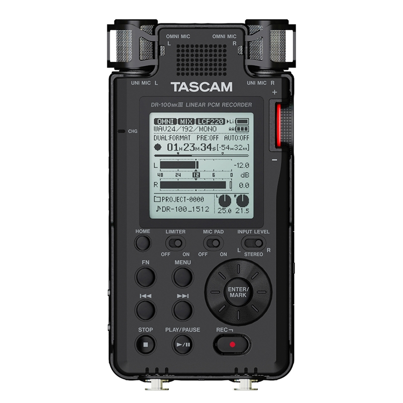 Tascam DR-100 MKIII Linear PCM Recorder