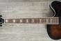 Washburn J600K Vintage Matte Jazz Electric Guitar with Hard Case