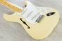Fender Eric Johnson Signature Thinline Stratocaster Semi-Hollow Electric Guitar, Maple Fingerboard, Hard Case - Vintage White