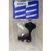 "Hipshot 20675KB HB6 - 1/2"" Licensed Ultralite Bass Tuning Machine, Clover Key - Black"
