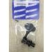 "Hipshot 20675KB HB6 - 1/2"" Licensed Ultralite Bass Tuning Machine, Bass Side, Clover Key-Black"
