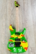 ESP LTD GL-KAMI4 George Lynch Signature Electric Guitar - Neon Kamikaze Graphic Finish