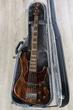 Mayones Jabba Hadrien Feraud 5 Bass, Antique Brown, Delano Pickups, Pau Ferro Fretboard - JAB1904425