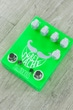 Fuzzrocious Grey Stache Fuzz Guitar Effects Pedal, Diode and 2nd Sustain Mods - Green