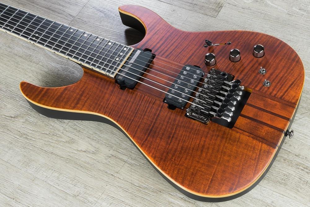 Schecter Banshee Elite-7 FR S 7-String Electric Guitar - Cat's Eye Pearl