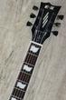 ESP E-II Eclipse FM Electric Guitar, Flamed Maple Top, Fitted Hard Case - See Thru Black Finish
